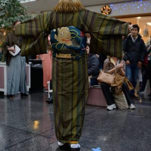 Kimono - modní přehlídka japonských oděvů