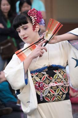 Japonský tanec - tradiční japonské tance