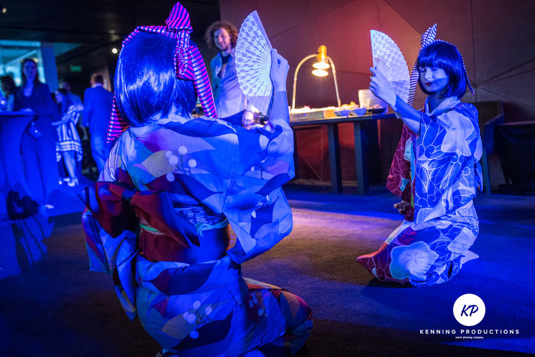 Japonske tance - Dolls, panama Hitachi 1