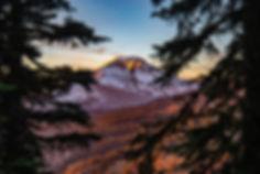 Cascade Mountains Skyline Recovery Bend Oregon