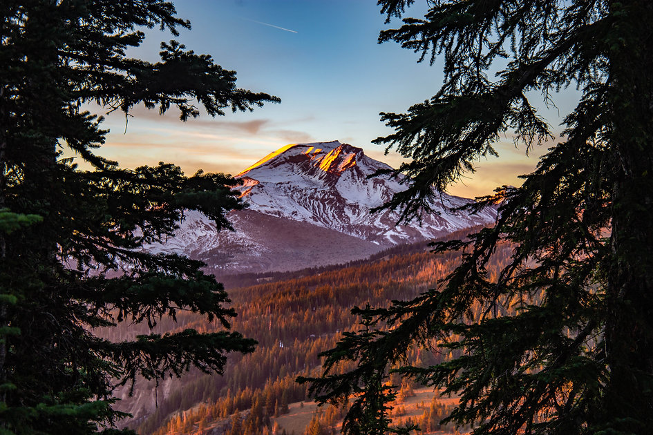 Cascade Mountains Skyline Recovery Bend Oregon