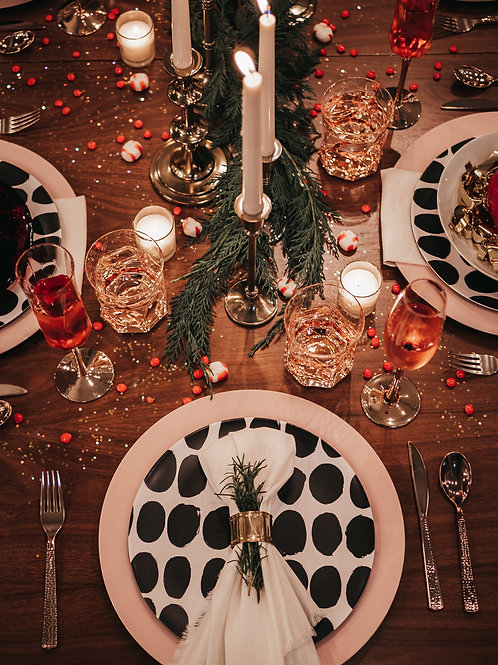 Eclectic Tablescape - Decor only
