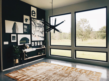Large picture windows