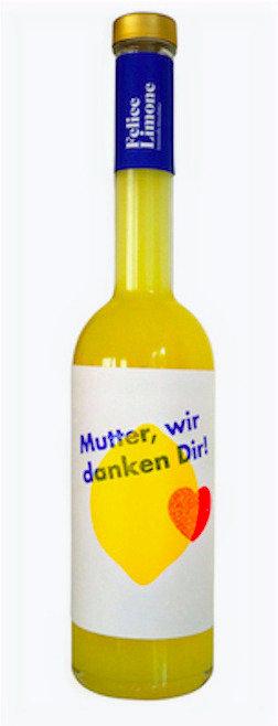 MUTTER, WIR DANKEN DIR - Felice Limone Limoncello 500ml