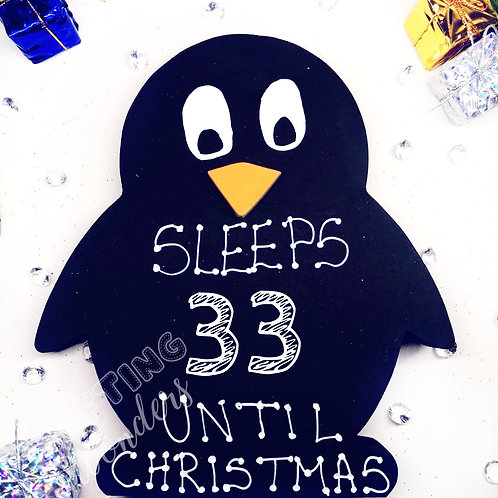 Penguin Countdown to Christmas
