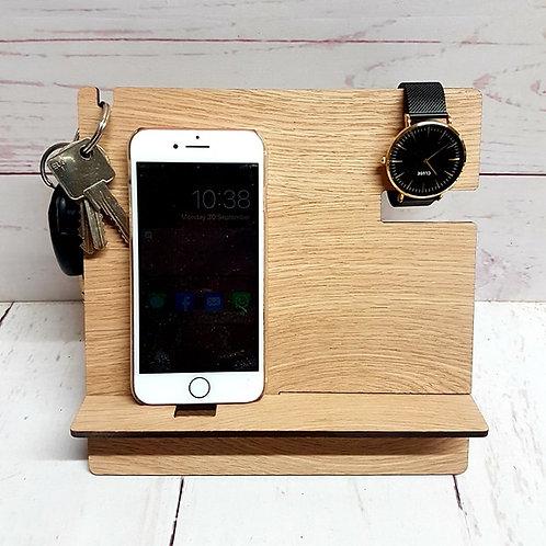 Phone Accessory Stands (Oak Veneer )
