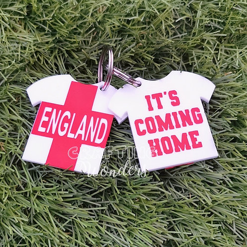 England Football Keyring