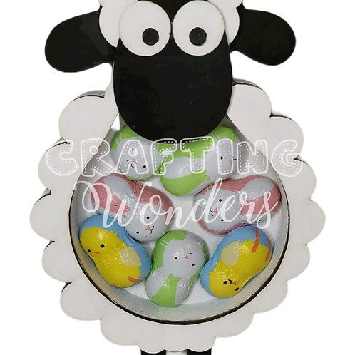 Sheep mini egg/ money box