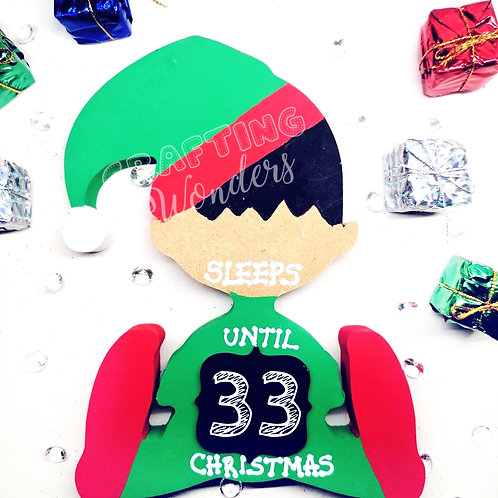 Elf countdown to christmas