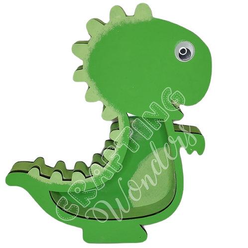 Dinosaur mini egg/money box