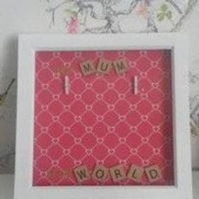 my world mum frame