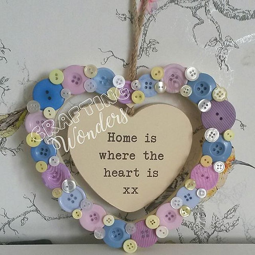 Button Home Sign