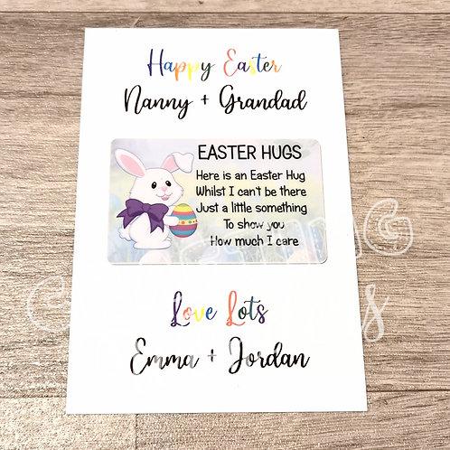 Easter Bunny Hug Cards