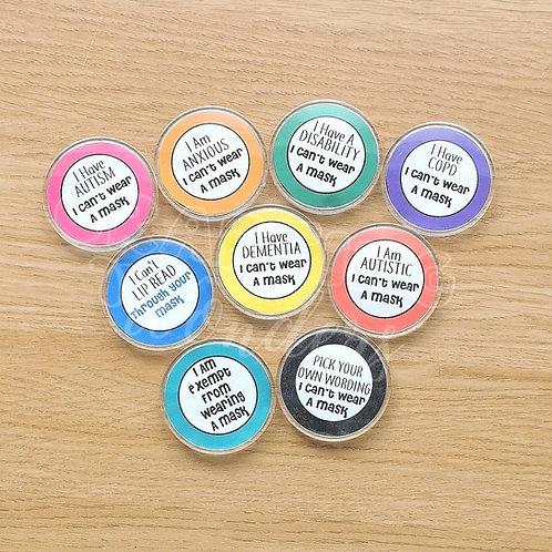 Exemption Badges