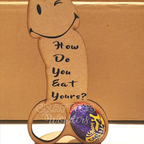 Willy Easter Egg Holder