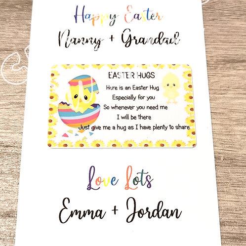 Easter Chick Hug Cards