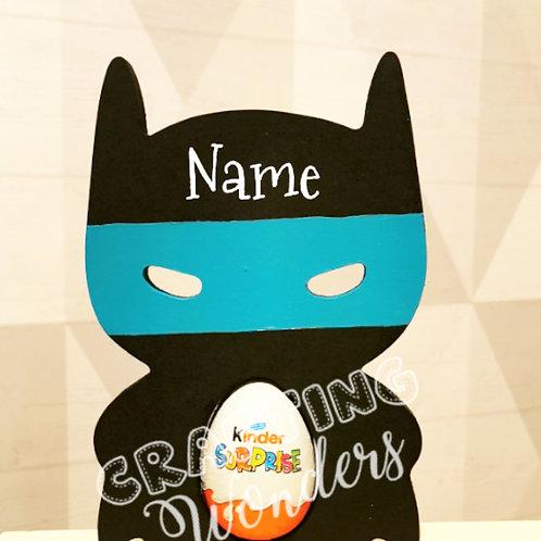 Superhero egg holder