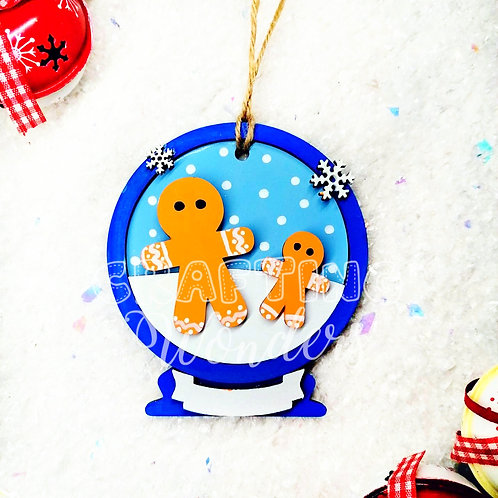 Gingerbread bauble
