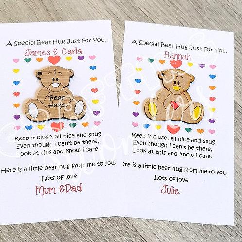 Pocket Bear Hugs