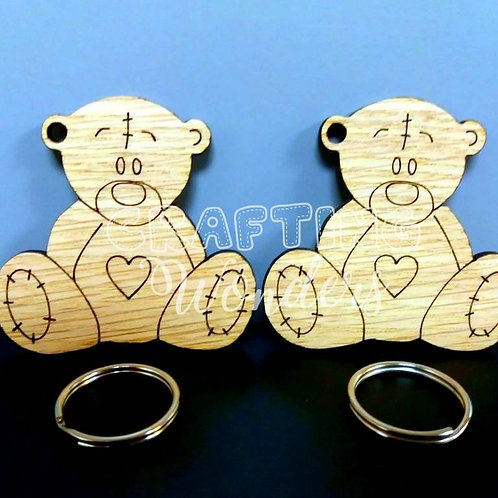 Teddybear Keyring