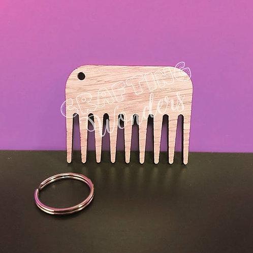 Beard Comb Keyring