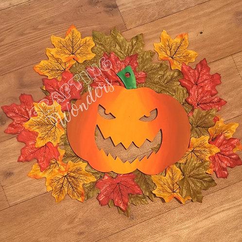 Halloween Pumpkin Hanging plaques