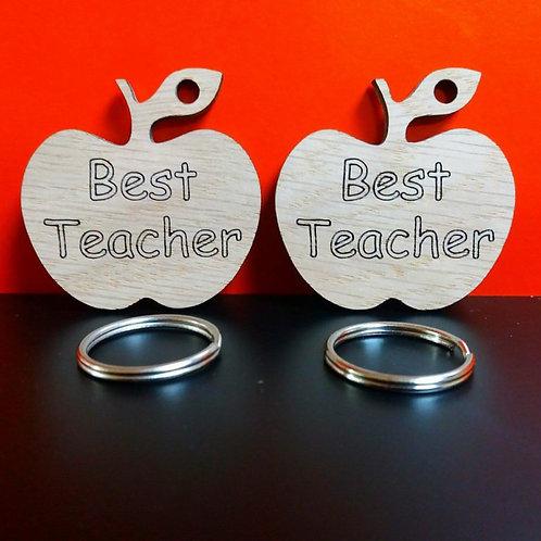 Best Teacher Keyring