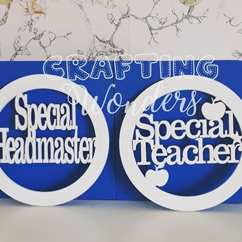 Special Teacher Coaster