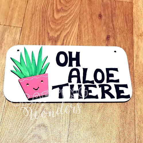 Cactus Aloe Plaque