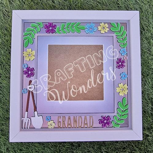 Grandad Garden theme frame