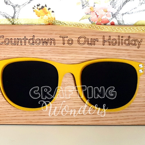 Countdown Holiday Plaque