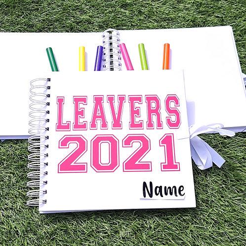 Personalised Leavers Book