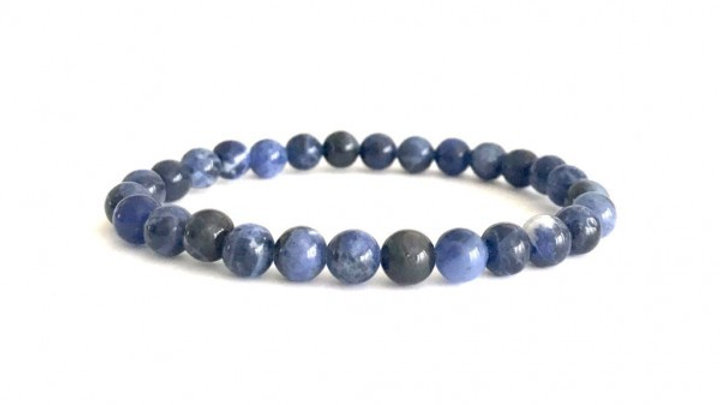 Laverne - Sodalite 6MM Grade (A) Rounded Beads