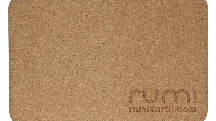 Rumi Yoga Block - Cork