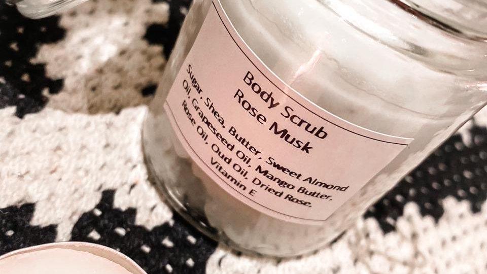 Cosmetiq Body Scrub - Rose Musk