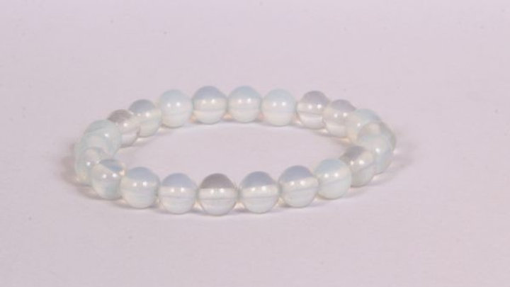 Laverne - Opalite 8MM Grade (A) Round Beads