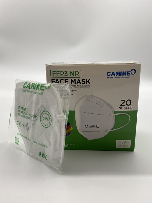 20 x FFP3 Disposable, Protective Respirator Mask