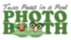Two Peas In A Pod Photo Booth Logo