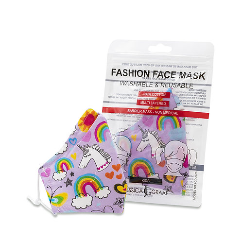 Fashion Face Masks Kids (100% Cotton)