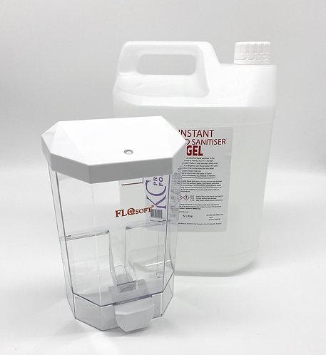 5L Hand Gel & 1000ml Liquid Dispensing Unit