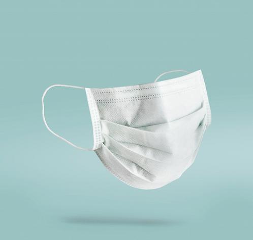 10 x 3 Ply White Medical Mask - (Box 10)