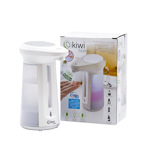 Kiwi Home Portable Dispenser 330ml (x4 AAA batteries required).