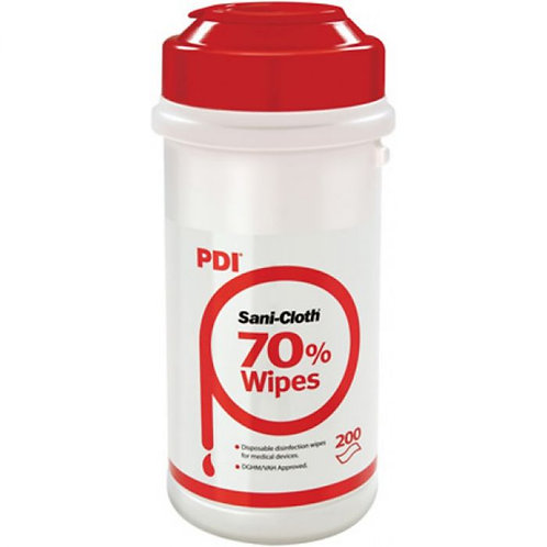 PDI Sani-Cloth 70% Alcohol Wipes | 200 Wipes Per Cannister