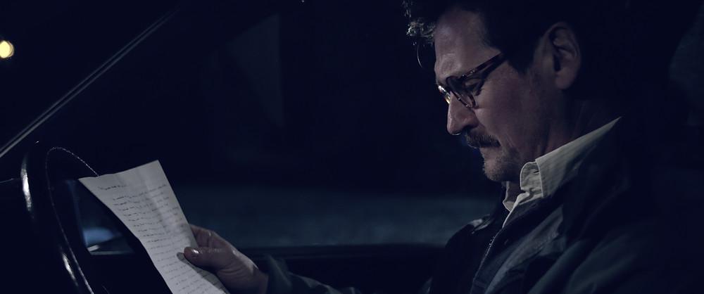 Benjamin Hartley playing Brian in Short film Sylvia