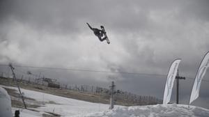 Snowboard steady cam