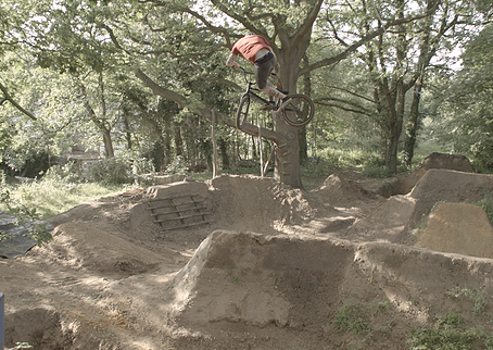 Cable-Cam shooting at BMX Trails