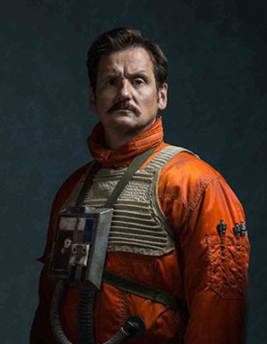 Benjamin Hartley playing Harb Binli in Rogue One Star Wars