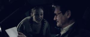 Willow Major playing daughter Jada in short film Sylvia