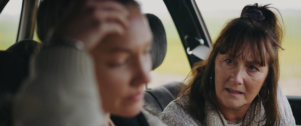 Gaynor Fraser playing Linda in short film Sylvia