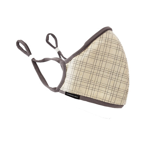 Organic Hemp Face Mask Non-Replaceable Filter 3 colours to choose from.